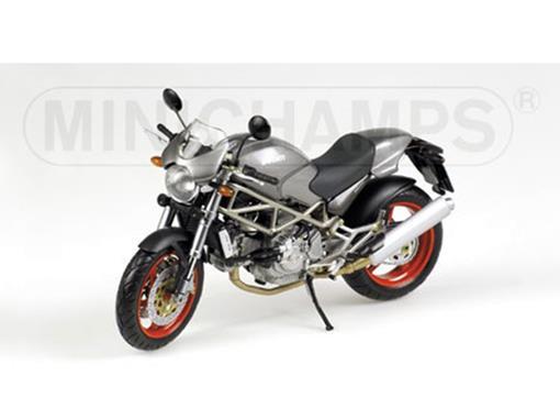 Ducati: Monster S4 - Cinza - 1:12