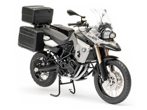 BMW: F800 GS - Prata/Preta - 1:10