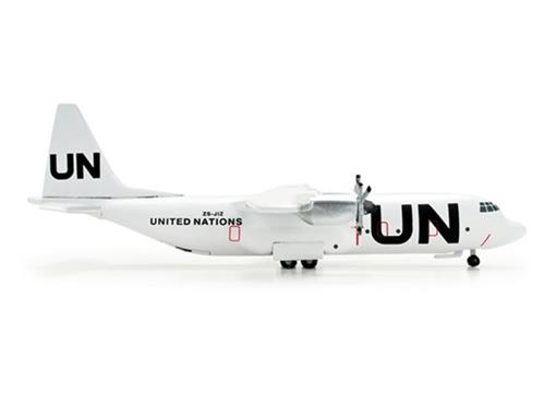 United Nations: Safair Lockheed L-100-30 Hercules - 1:500