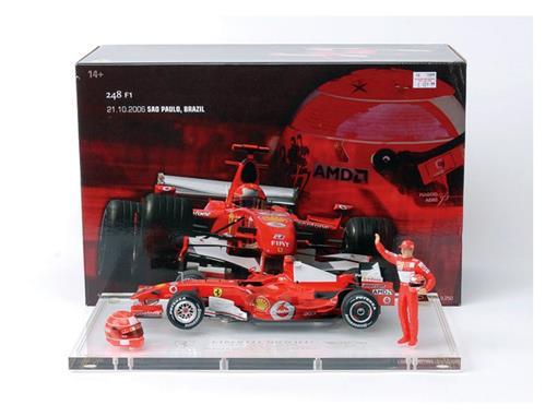 Ferrari: F248 - Michael Schumacher - GP Brasil (2006) - 1:18
