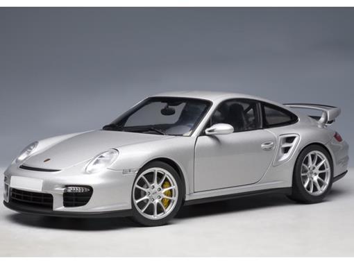 Porsche: 911 (997) GT2 - Cinza - 1:18