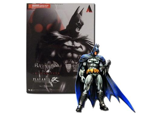 Boneco Batman - Arkham City No.1 - Play Arts Kai
