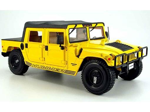 Hummer: Soft Top - Amarelo - 1:18