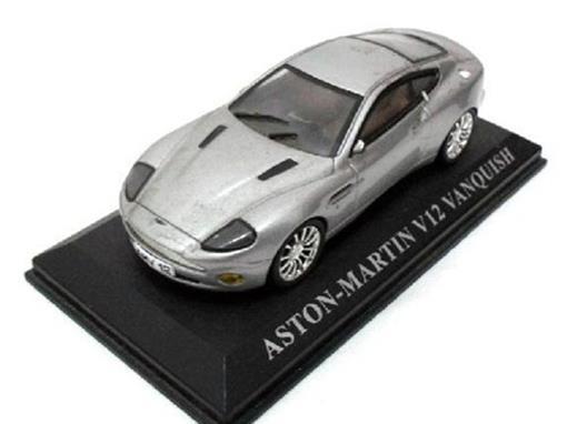 Aston Martin: V12 Vanquish - Cinza - 1:43