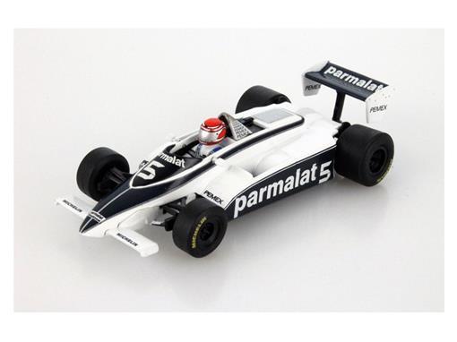 Brabham BT-49C: Nelson Piquet - Champion Du Monde (1981) -  1:43 - Quartzo