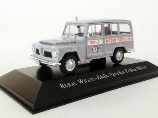 Willys: Rural - Rádio Patrulha Polícia Militar - 1:43