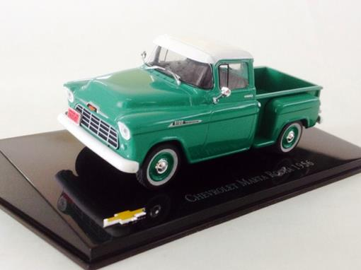 Chevrolet: Marta Rocha (1956) - Verde - 1:43