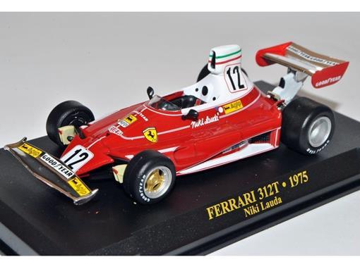 Ferrari: 312T  - #12 Niki Lauda (1975) - 1:43