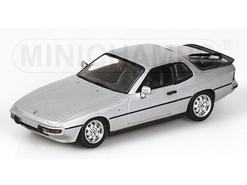 Porsche: 924 (1984) - Prata - 1:43
