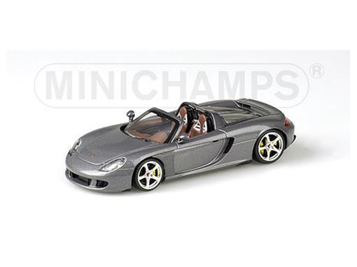 Porsche: Carrera GT (2003) - Cinza Metálico - 1:43