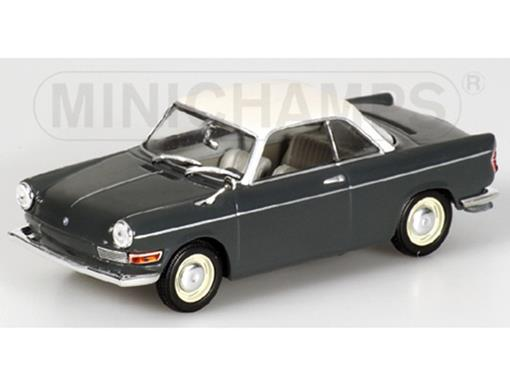 BMW: 700 Sport Coupé (1960) - Cinza / Branco - 1:43