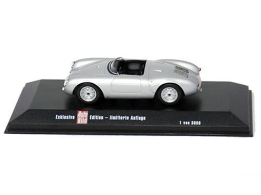 Porsche: 550 Spyder - Prata - 1:43
