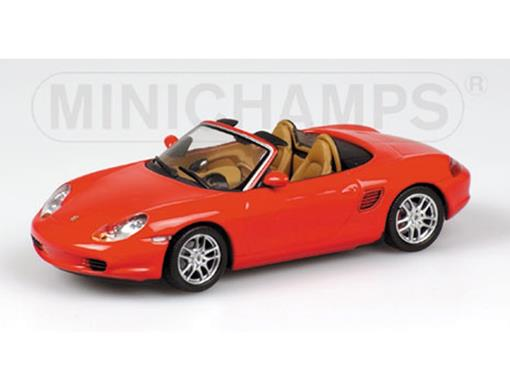 Porsche: Boxster (2002) - Vermelho - 1:43