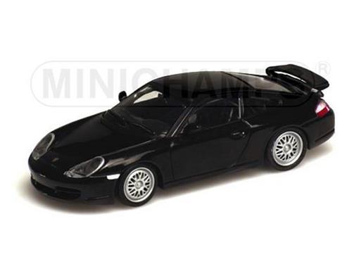 Porsche: 911 GT3 (1999) - Preto - 1:43