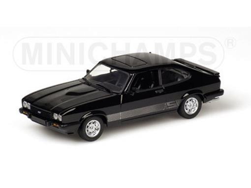 Ford: Capri II (1979) - Preto - 1:43