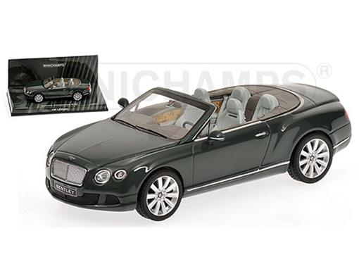 Bentley: Continental GTC (2011) - Verde - 1:43