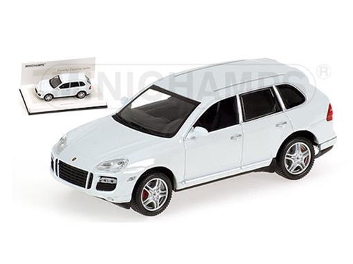 Porsche: Cayenne Turbo (2007) - 'Linea Bianco' - Branca - 1:43