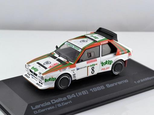 Lancia Delta S4 #8 - Sanremo (1986) - 1:43
