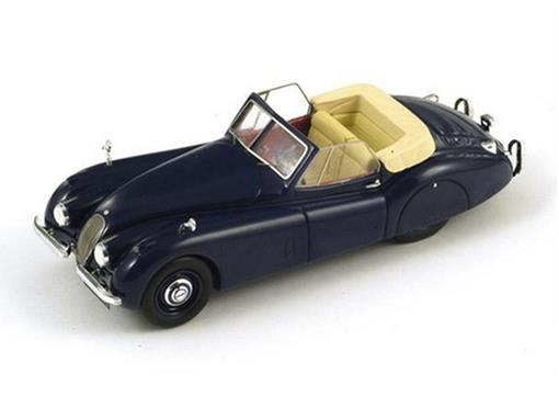 Jaguar: XK120 Cabrio (1953) - Azul - 1:43