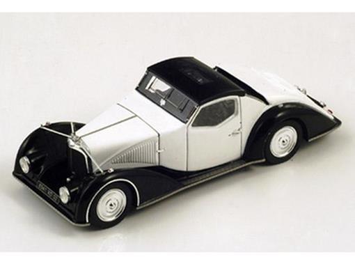 Voisin: C27 Aerosport (1934) - Branco / Preto - 1:43