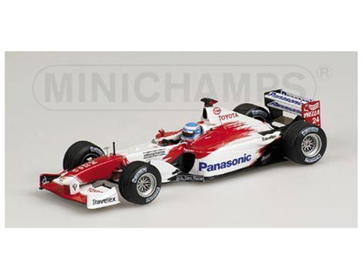 Panasonic Toyota Racing: TF 102 - M. Salo (2002) - 1:43