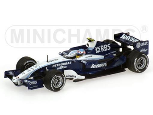 Williams Toyota: FW29 - Alexander Wurz (2007) - 1:43