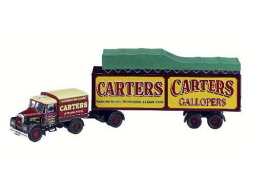 Scammell: Highwayman - Box Trailer & Roofload - Carters - 1:50