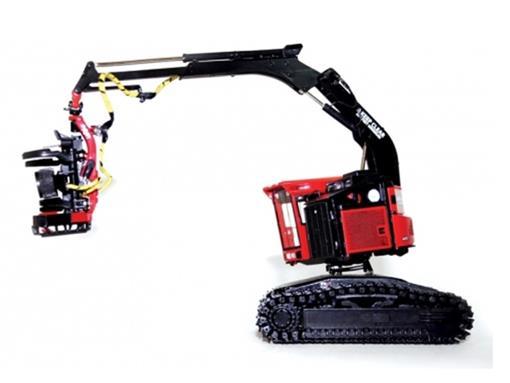 Valmet: 445 Exl - Track Harvester With Valmet 385 Harvesting Head - 1:50