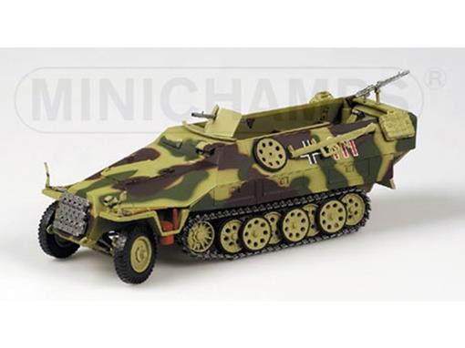 German Army: SD. KFZ 251/1 Half Track (1939) - 1:35