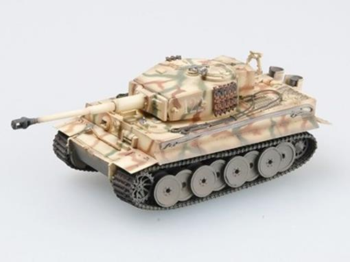 German Army: Tiger I Middle Type (Russia, 1943) - 1:72