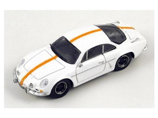 Renault: Alpine A110 1300s (1966) - Branco - HO