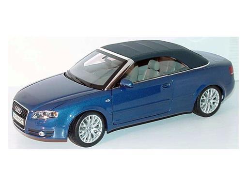 Audi: A4 Cabriolet 3.2 - Azul - 1:18