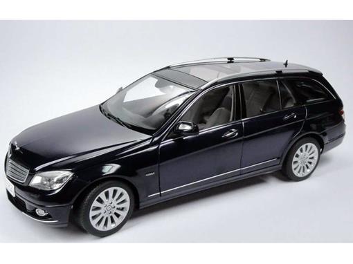 Mercedes Benz: C-Klasse T-Modell Elegance (S204) - Azul - 1:18