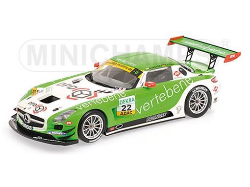 Mercedes Benz: SLS AMG GT3 - #22 Sigacev / Stoll - MS Racing - Adac GT Masters (2011) - 1:18