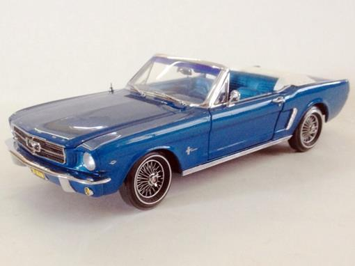Ford: Mustang (1964) - Azul - 1:18