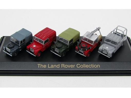 Set: The Land Rover Collection - 1:76