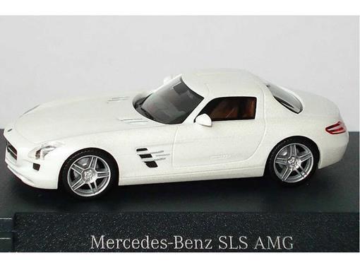 Mercedes Benz: SLS AMG - Branco - HO