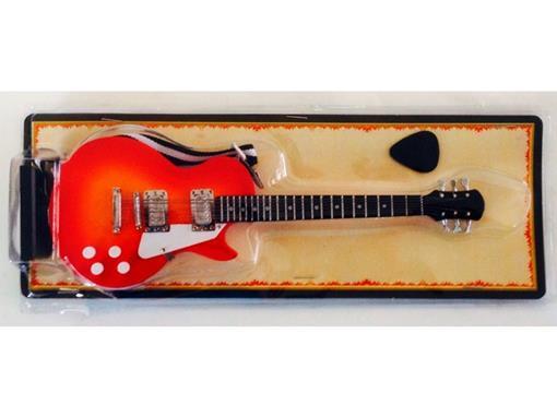 Miniatura de Guitarra Les Paul - Cereja (Blister) - 1:4