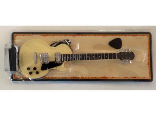 Miniatura de Guitarra Les Paul - Creme (Blister) - 1:4