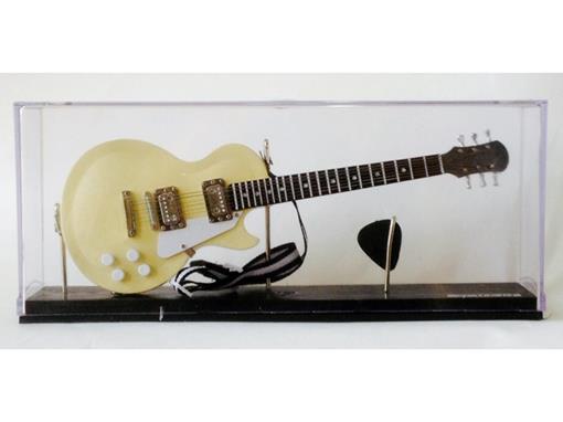 Miniatura de Guitarra Les Paul - Creme - (Acrilico) - 1:4