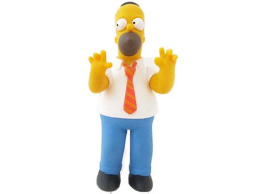 Boneco Homer Simpsons - The Simpsons - Multikids