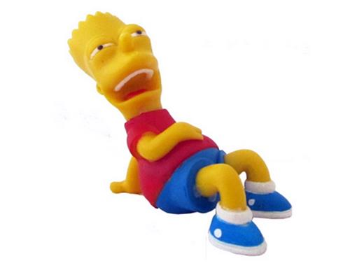 Boneco Bart Simpsons - The Simpsons - Multikids