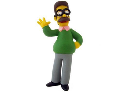Boneco Ned Flanders - The Simpsons - Multikids