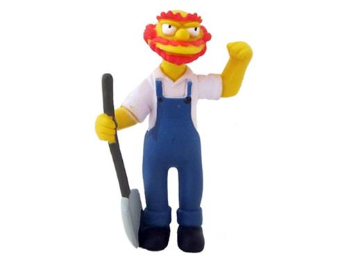 Boneco Groundskeeper Willie - The Simpsons - Multikids