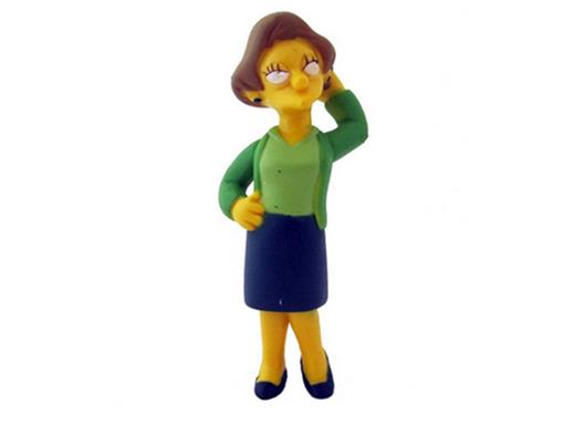 Boneco Edna Krabappel - The Simpsons - Multikids