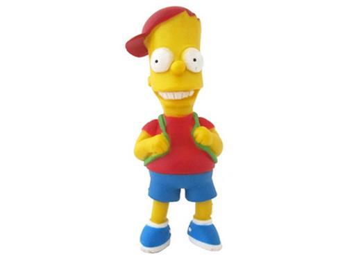 Boneco Bart Simpson Escolar - The Simpsons - Multikids