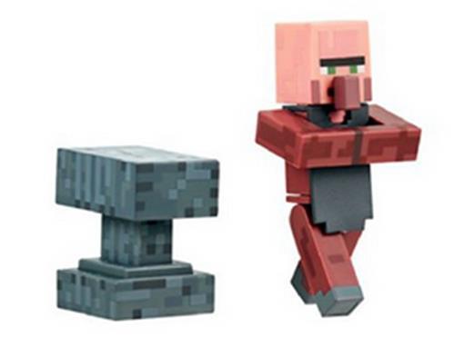 Boneco Aldeão Ferreiro - Minecraft - Multikids
