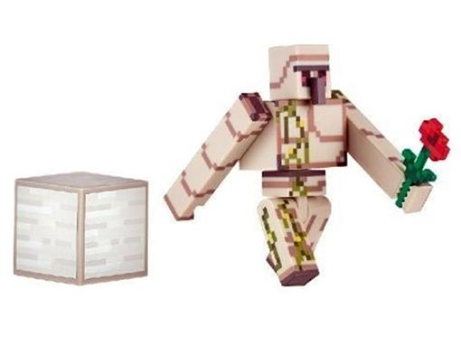 Boneco Golem de Ferro - Minecraft - Multikids