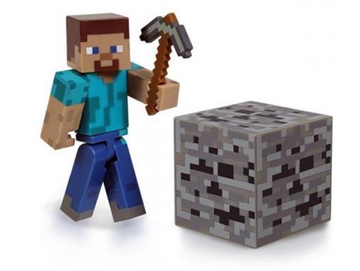 Boneco Steve - Minecraft - Multikids