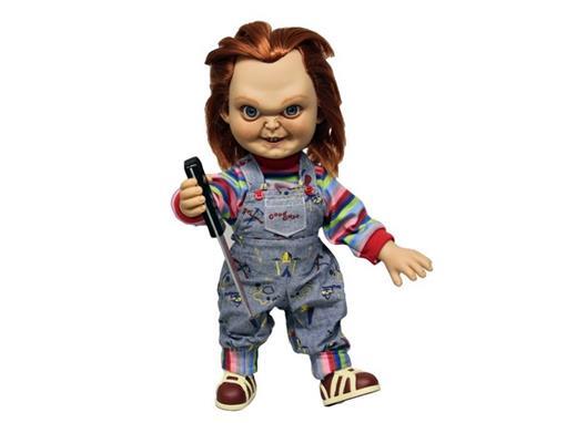 Boneco Chucky - C/ Som O Brinquedo Assassino 2 - Mezco Toys